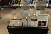 Draft cards for each NFL team's selection in the 2013 draft on display in the Pro Football Hall of Fame in Canton, Ohio on June 30, 2013.<br /> <br /> © 2013 Scott A. Miller