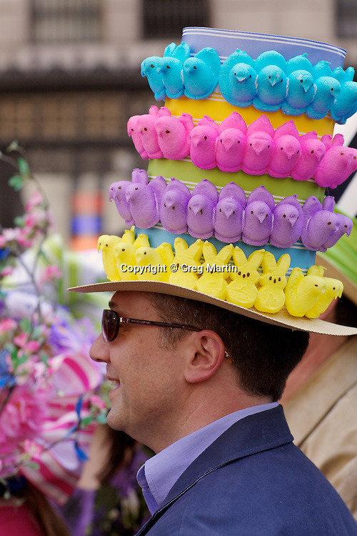 Easter Day Parade on 5th Ave, NYC
