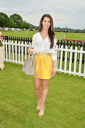 MANUELA LONDONO at the Cartier Queen's Cup Final 2016 held at Guards Polo Club, Smiths Lawn, Windsor Great Park, Egham, Surry on 11th June 2016.