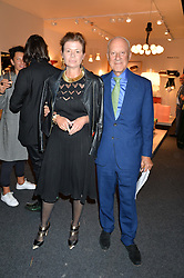 LORD & LADY ROGERS at the PAD London 2015 VIP evening held in the PAD Pavilion, Berkeley Square, London on 12th October 2015.