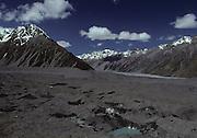 Tasman Valley, Tasman Glacier, Tasman Glacier Moraine, Glacier, Glacier Moraine, Moraine, New Zealand