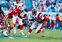 &copy;2005 TOM DIPACE<br /> ALL RIGHTS RESERVED<br /> 561-968-0600  <br /> Icky Woods  SanFrancisco 49ers circ1989 Superbowl XXIII<br />  BY TOM DIPACE&copy;