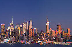 Midtown Manhattan from Hudson River
