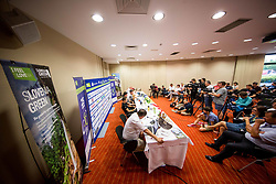 Press conference of 25th Tour de Slovenie 2018 cycling race, on June 12, 2018 in Hotel Livada, Moravske Toplice, Slovenia. Photo by Vid Ponikvar / Sportida
