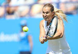 Dominika Cibulkova in action - Mandatory by-line: Paul Terry/JMP - 24/06/2016 - TENNIS - Devonshire Park - Eastbourne, United Kingdom - Agnieszka Radwanska v Dominika Cibulkova - Aegon International Eastbourne