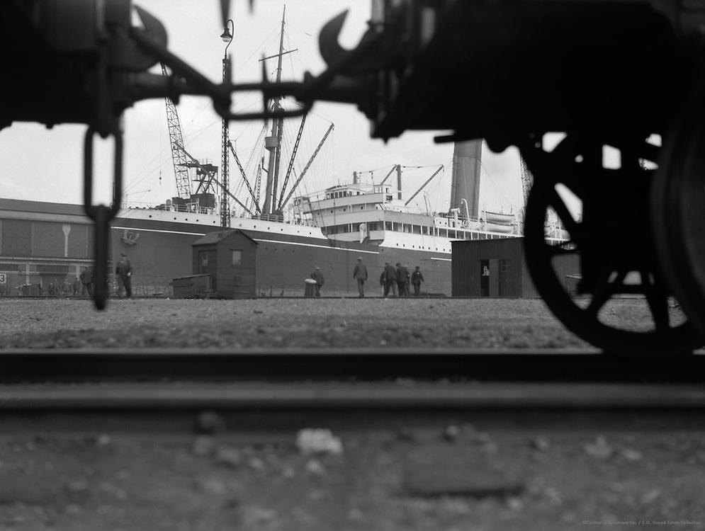 Royal Docks, London, 1934