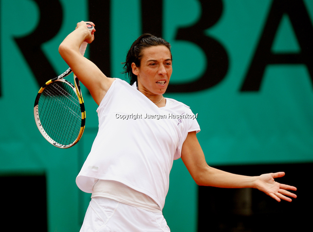 French Open 2010, Roland Garros, Paris, Frankreich,Sport, Tennis, ITF Grand Slam Tournament, ..Francesca Schiavone (ITA) ..Foto: Juergen Hasenkopf..