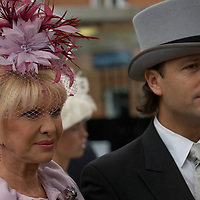 Ivana Trump  and fiance Rossano Rubicondi at Ladies Day, Royal Ascot 2007, Thursday 21st Jun 2007
