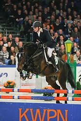 Van Tilburg Dennis (NED) - Zapatero VDL<br /> KWPN Hengstenkeuring 2009<br /> © Dirk Caremans