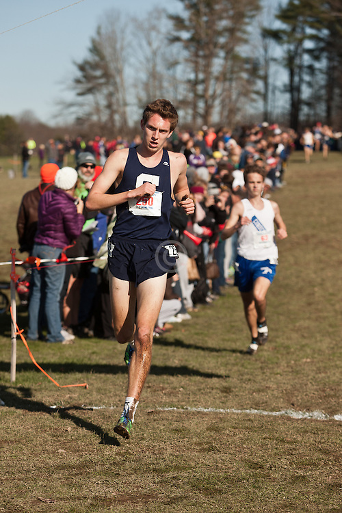New England High School XC Championship, Henry Wynne wins, Trevor Crawley