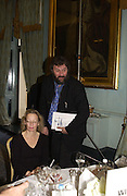 STEVE BELL Association awards, 2005. Institute of Directors. Pall Mall. London. 29 November 2005. ONE TIME USE ONLY - DO NOT ARCHIVE  © Copyright Photograph by Dafydd Jones 66 Stockwell Park Rd. London SW9 0DA Tel 020 7733 0108 www.dafjones.com