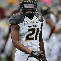 ORLANDO, FL - JANUARY 01:  Bud Sasser #21 of the Missouri Tigers is seen on the field during the Buffalo Wild Wings Citrus Bowl between the Minnesota Golden Gophers and the Missouri Tigers at the Florida Citrus Bowl on January 1, 2015 in Orlando, Florida. (Photo by Alex Menendez/Getty Images) *** Local Caption *** Bud Sasser