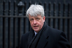 © London News Pictures. 19/03/2013. London, UK.  Leader of the House of Commons Andrew Lansley MP arriving on Downing Street in London for cabinet meeting. Photo credit: Ben Cawthra/LNP.