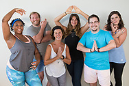 Southern Soul Yoga community class and portraits on August 5, 2017. Photo by Dan Henry / DanHenryPhotography.com