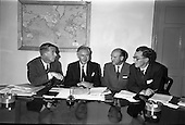 1962 - Aer Lingus- Irish International Airlines AGM, press conference at General Manager's Office
