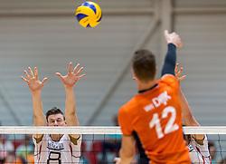 05-06-2016 NED: Nederland - Duitsland, Doetinchem<br /> Nederland speelt de laatste oefenwedstrijd ook in  Doetinchem en speelt gelijk 2-2 in een redelijk duel van beide kanten / Marcus Bohme #8