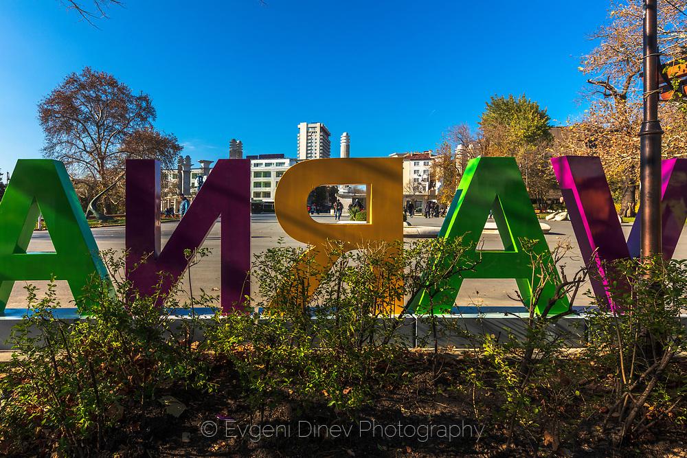 City Centre of Varna