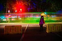 Barnes Road Crossing @ Night, Accra City Centre