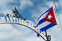 """Monument to the """"Martires de Cuba"""" in the Key West cemetery"""