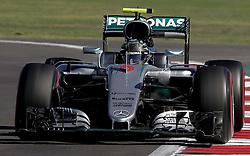 October 29, 2016 - Mexico - EUM20161029DEP29.JPG .CIUDAD DE MÉXICO MotoringAutomovilismo-F1.- El piloto alemán de la escudería Mercedes AMG Petronas, Nico Rosberg, en la en la carrera de clasificación del Gran Premio de México de la Fórmula 1, 29 de octubre de 2016, Autódromo Hermanos Rodríguez. Foto: Agencia EL UNIVERSALAlejandro AcostaJMA  (Credit Image: © El Universal via ZUMA Wire)