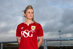 Bristol City Women's FC loan signing Millie Farrow - Mandatory byline: Rogan Thomson/JMP - 11/01/2016 - FOOTBALL - Stoke Gifford Stadium - Bristol, England - Bristol City Women's FC New Signings.