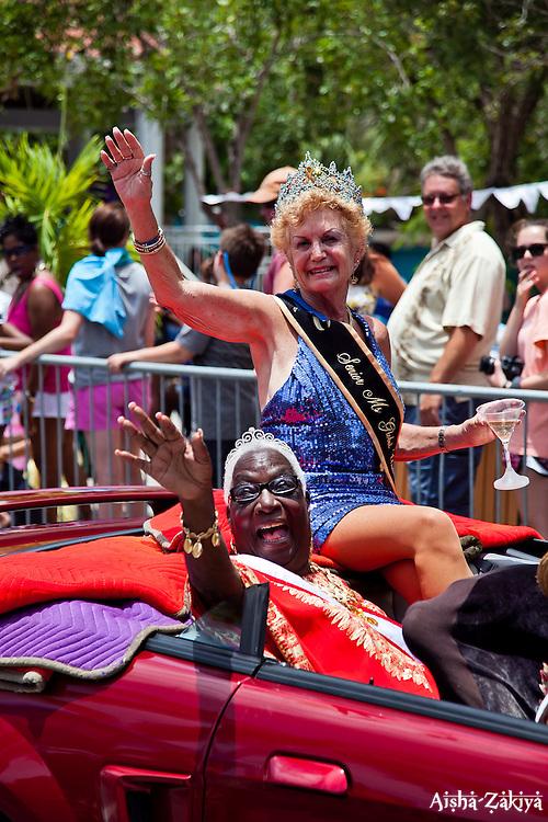 Ina Victoria Lee Ms. Senior VI 2009 and Toohey.  St. John Carnival 2012 © Aisha-Zakiya Boyd