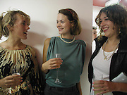 Cynnie Rainey, Jasmine Guinness and Sam Mckewan, Marni shop opening, Sloane St. 10 September 2003. © Copyright Photograph by Dafydd Jones 66 Stockwell Park Rd. London SW9 0DA Tel 020 7733 0108 www.dafjones.com