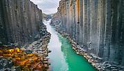 Stuðlagil Canyon one of iceland hidden gems