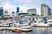 Etihad Stadium at Melbourne City Marina at Docklands