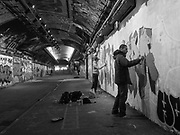 Leake st. London. 25 November 2017