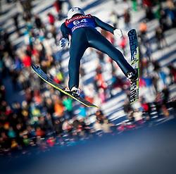 31.12.2013, Olympiaschanze, Garmisch Partenkirchen, GER, FIS Ski Sprung Weltcup, 62. Vierschanzentournee, Training, im Bild Marinus Kraus (GER) // Marinus Kraus (GER) during practice Jump of 62nd Four Hills Tournament of FIS Ski Jumping World Cup at the Olympiaschanze, Garmisch Partenkirchen, Germany on 2013/12/31. EXPA Pictures © 2013, PhotoCredit: EXPA/ JFK