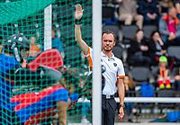 AMSTELVEEN - scheidsrechter  finale Den Bosch MA1-SCHC MA1 4-1. Den Bosch wint de titel Meisjes A . finales A en B jeugd  Nederlands Kampioenschap.  COPYRIGHT KOEN SUYK