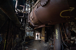 Carrie Furnace, Rankin, Pa.<br /> March 2011<br /> Digital<br /> 12x18<br /> <br /> Commissioned Project Budget $1000