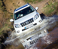 07:05:2010.The new Toyota Landcruiser on Knockhills off-road course..Driven by Sun Motors ed Phil Lanning....Pic:Andy Barr.07974 923919  (mobile).andy_snap@mac.com.All pictures copyright Andrew Barr Photography. .Please contact before any syndication. .