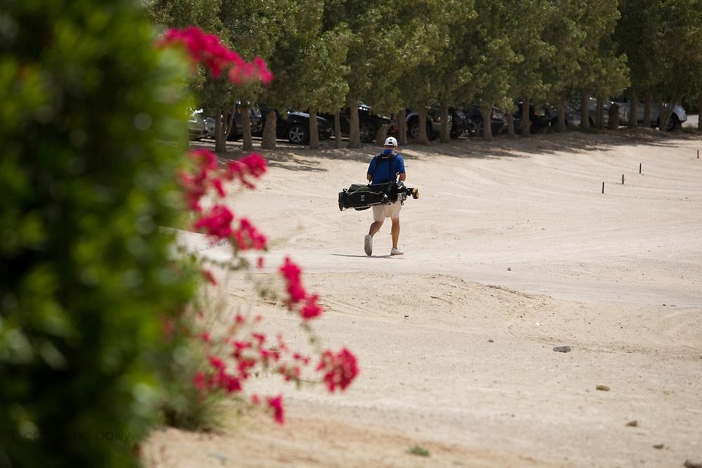 Abu Dhabi, United Arab Emirates (UAE). .March 20th 2009..Al Ghazal Golf Club..36th Abu Dhabi Men's Open Championship..Mathew Turner.