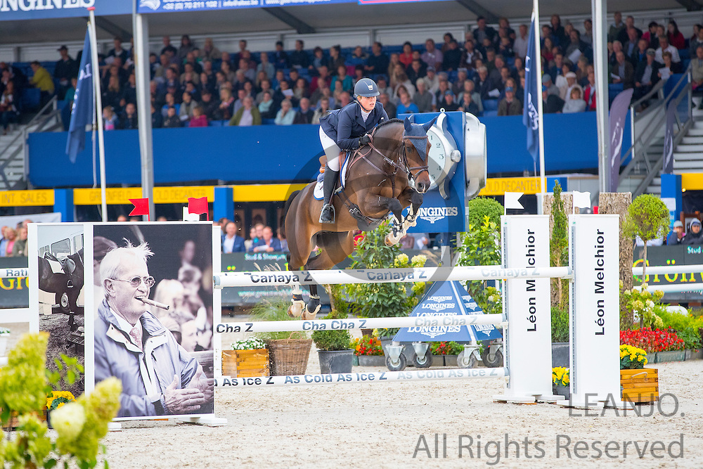 Anna Wilks - L Primero di Gala<br /> FEI World Breeding Jumping Championships for Young Horses 2016<br /> © DigiShots