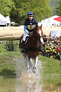 Charlotte East riding King Albert during the International Horse Trials at Chatsworth, Bakewell, United Kingdom on 13 May 2018. Picture by George Franks.