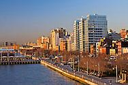 New York, New York CIty, Hudson River Park , West Village, Greenwich VIllage
