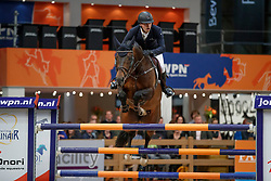 Houwen Kristian, NED, Edinburgh<br /> KWPN Stallionshow - 's Hertogenbosch 2018<br /> © Hippo Foto - Dirk Caremans<br /> 01/02/2018