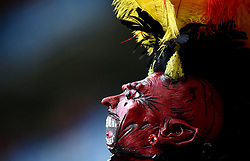 Head dress of a Belgium fan  - Mandatory by-line: Joe Meredith/JMP - 01/07/2016 - FOOTBALL - Stade Pierre Mauroy - Lille, France - Wales v Belgium - UEFA European Championship quarter final