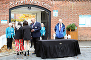 Security checks at the Princess Mary Gate Entrance prior to the October Finale meeting at York Racecourse, York, United Kingdom on 13 October 2018. Pic Mick Atkins