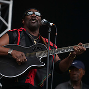 Lloyd Park, London, England, UK. Toots and the Maytals performs at the Walthamstow Garden Party. Host by The Barbican Centre at Walthamstow.