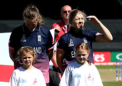 Heather Knight of England Women - Mandatory by-line: Robbie Stephenson/JMP - 02/07/2017 - CRICKET - County Ground - Taunton, United Kingdom - England Women v Sri Lanka Women - ICC Women's World Cup Group Stage