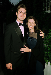 LORD & LADY RUSSELL, he is the son of the DMarquess of Tavistock, at a ball in London on 17th June 1997.<br /> LZL 40