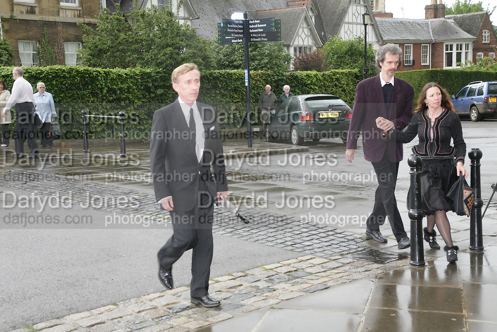 Jasper Conran, Funeral for Isabella Blow. Gloucester Cathedral. 15 May 2007.  -DO NOT ARCHIVE-© Copyright Photograph by Dafydd Jones. 248 Clapham Rd. London SW9 0PZ. Tel 0207 820 0771. www.dafjones.com.