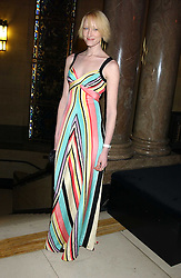 Model JADE PARFITT at the 2005 Lancome Colour Design Awards in association with CLIC Sargent Cancer Care for Children held at the Freemasons' Hall, Great Queen Street, London on 23rd November 2005.<br />
