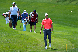 June 22, 2018 - Cromwell, Connecticut, United States - Jordan Spieth approaches the 8th green during the second round of the Travelers Championship at TPC River Highlands. (Credit Image: © Debby Wong via ZUMA Wire)