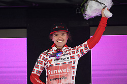 Susanne Andersen (NOR) is the best Norwegian on Ladies Tour of Norway 2019 - Stage 1, a 128 km road race from Åsgårdstrand to Horten, Norway on August 22, 2019. Photo by Sean Robinson/velofocus.com