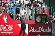 18.01.2013 Abu Dhabi HSBC Golf championship european tour, round 2