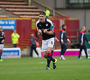 Dundee's Darren O'Dea at full time - Motherwell v Dundee, Fir Park, Motherwell, Photo: David Young<br /> <br />  - © David Young - www.davidyoungphoto.co.uk - email: davidyoungphoto@gmail.com